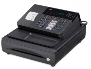 A basic Casio cash register