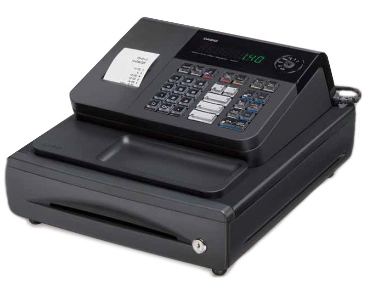 how to set date on casio cash register