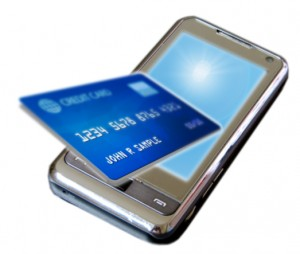 NFC Phone and Credit Card